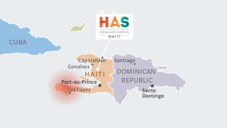 Erdbeben in Haiti August 2021