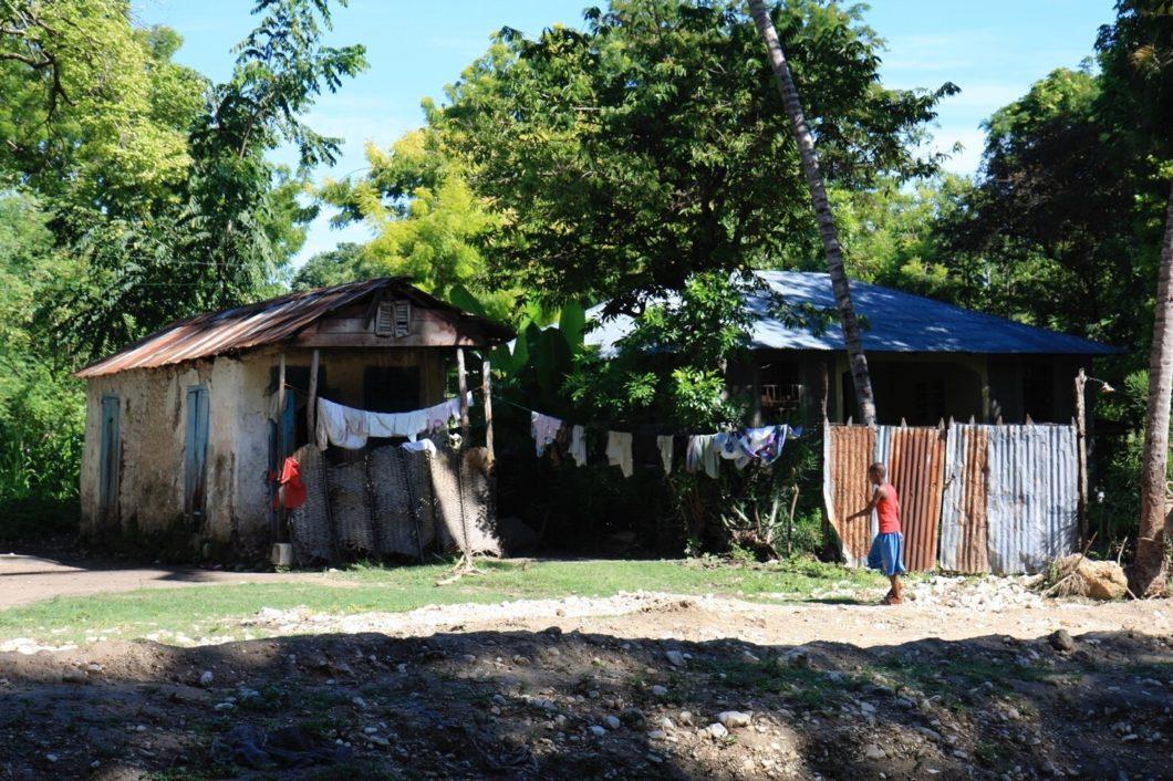 Bild einer Alltagssituation in Haiti